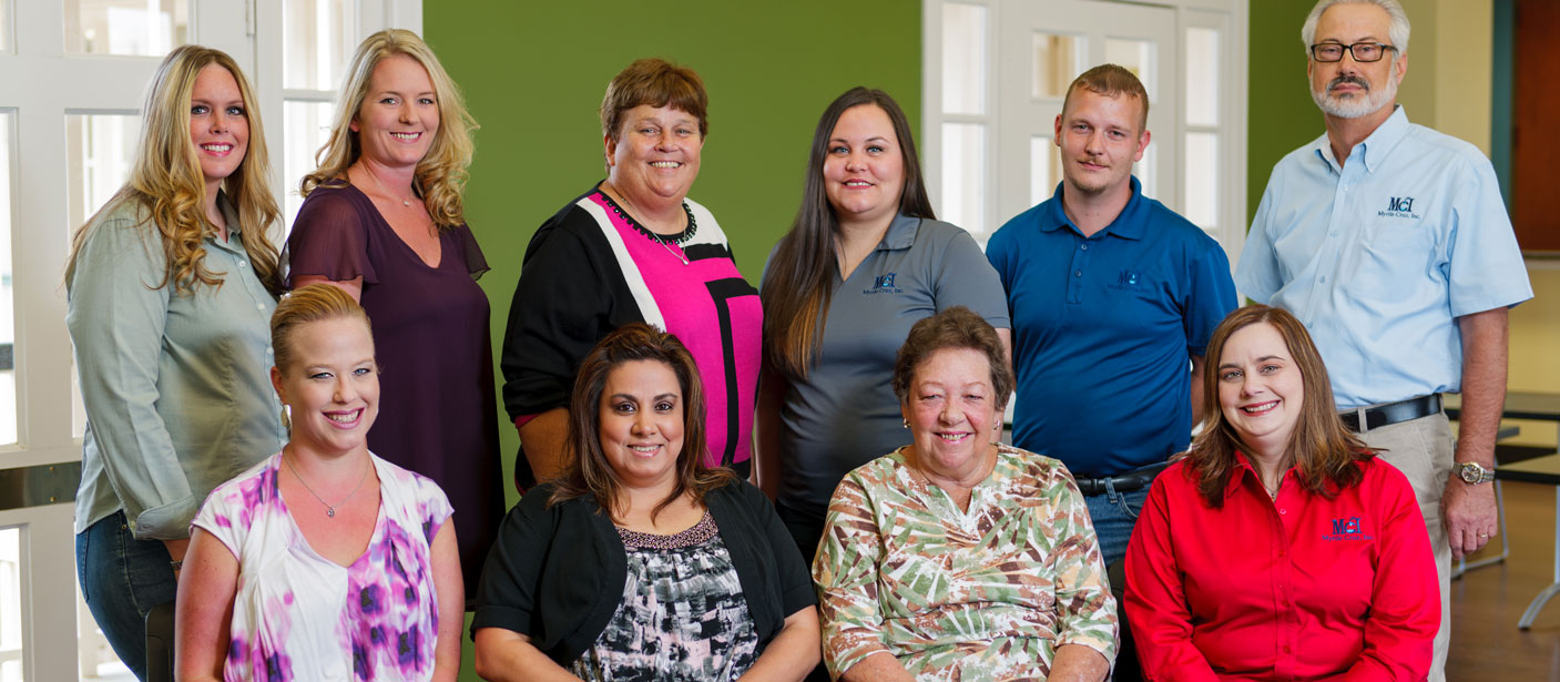 BRITTANY GIBSON, NINA WITT, NANCY DAVIS, KIM RUSSELL, CORY LAUDERDALE, VINCENT NORRIS, BETH FIRE, THERESA LILLEY, EVELYN LILLEY, TIFFANY GREEN, AND JESSICA LORENZ (not pictured)